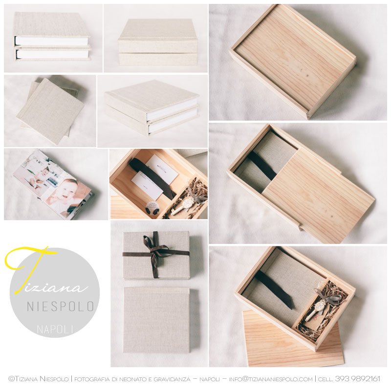 Album Neonato Wood Box