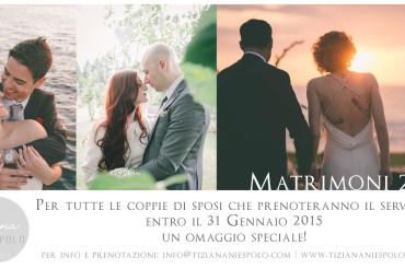 Matrimoni 2015 } Weddings 2015