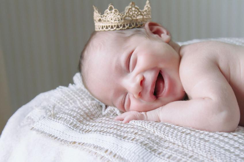 primi sorrisi | fotografo neonato salerno