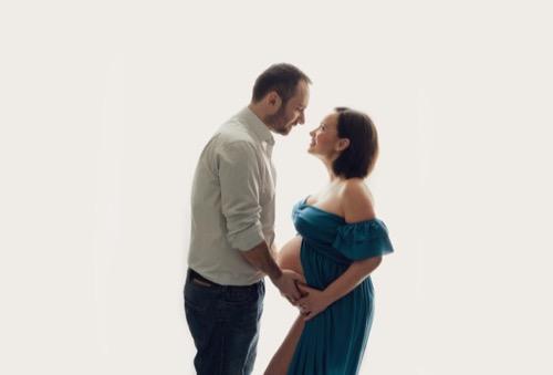 coppia in attesa di un figlio
