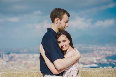 Servizio fotografico di coppia per il primo anniversario di Laura e Chris