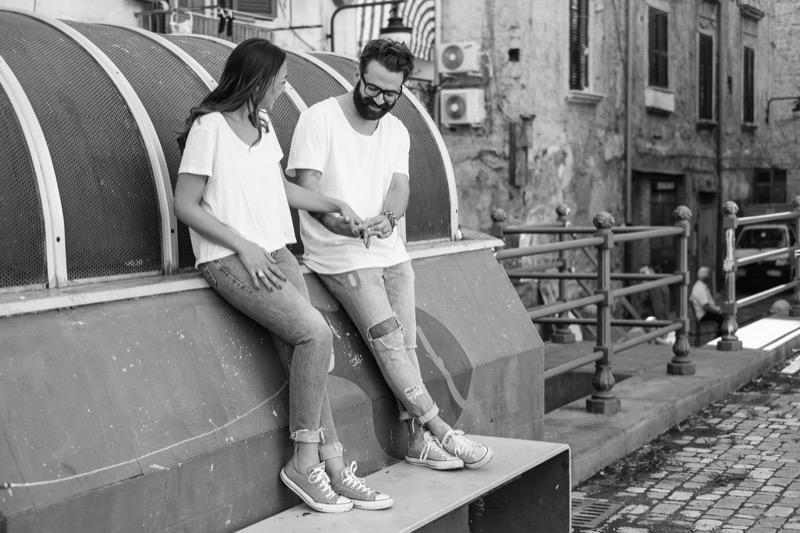 Engagement photographer Naples