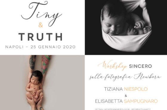 Workshop Fotografia Newborn Napoli – Tiny & Truth – Tiziana Niespolo & Elisabetta Sampugnaro