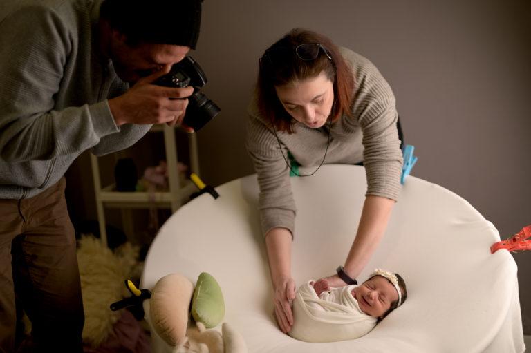 Mentoring Fotografia newborn