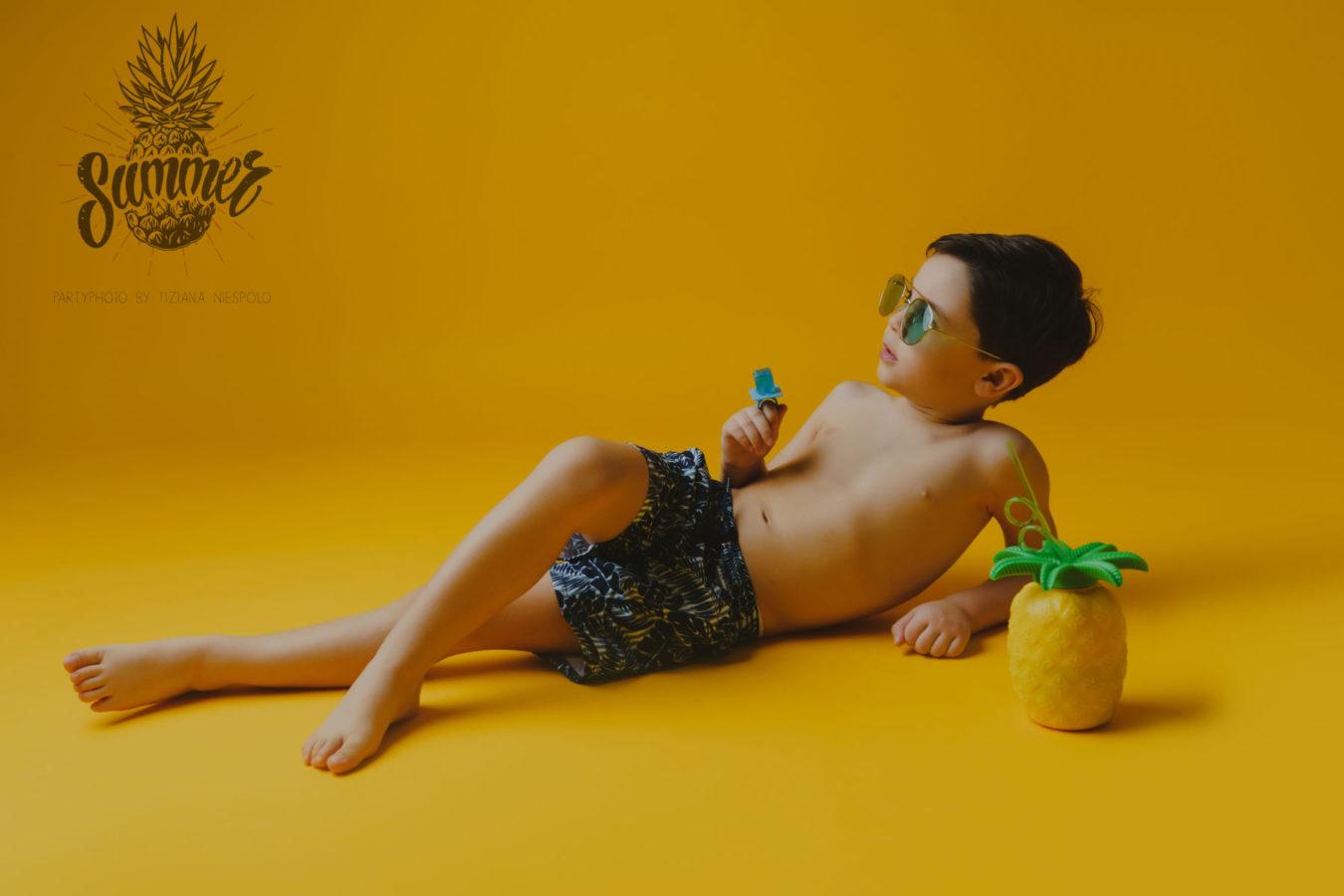 Summer Party - Servizio Fotografico Bambini Napoli