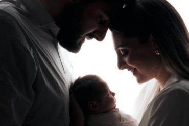 'THREE' il ritratto di famiglia attesa e nascita